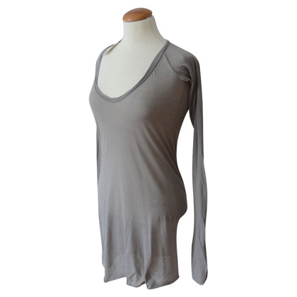 Humanoid gray long sleeve shirt