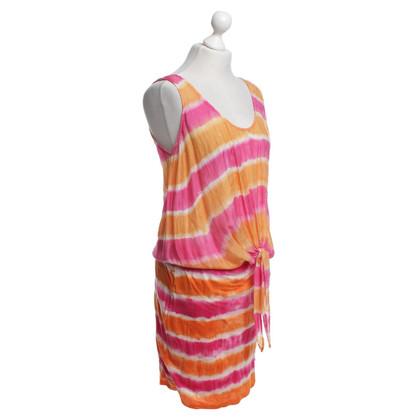 Velvet Vestito con motivi batik