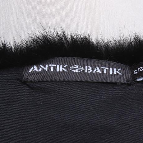 Antik Pelzbesatz mit Weste Antik Bunt Batik Muster Batik rqwXar