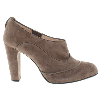 Tod's pumps from brown suede