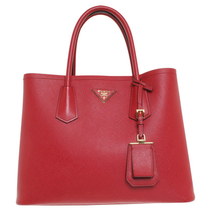 Prada Handbag in red