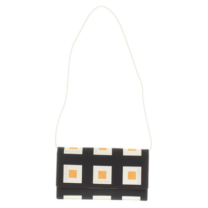 Bulgari clutch in Tricolor