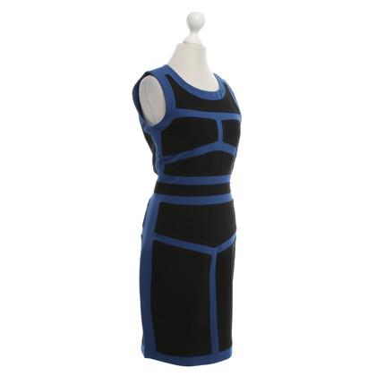"""Diane von Furstenberg Kleid """" Galya"""" in Blau/Schwarz"""