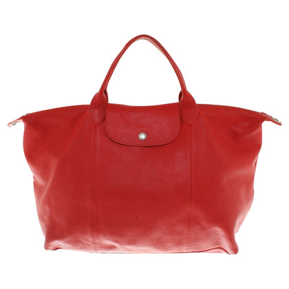 Longchamp Shopper in Rot
