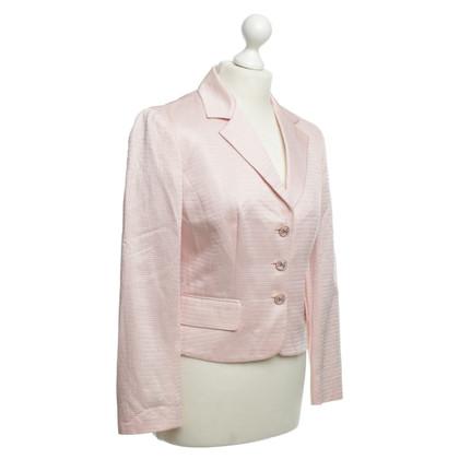 Dolce & Gabbana Strukturierter Blazer in Rosa