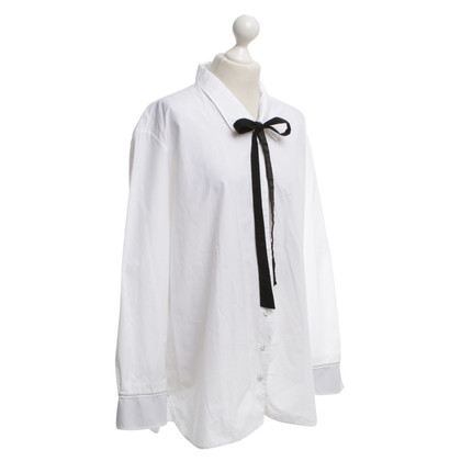 Marithé et Francois Girbaud Shirt blouse in white