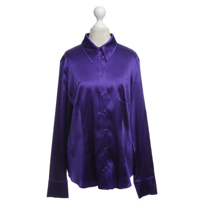 St. Emile Silk blouse in violet
