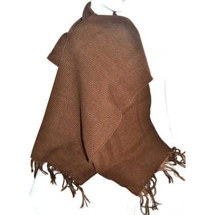 Burberry Wool scarf with check pattern