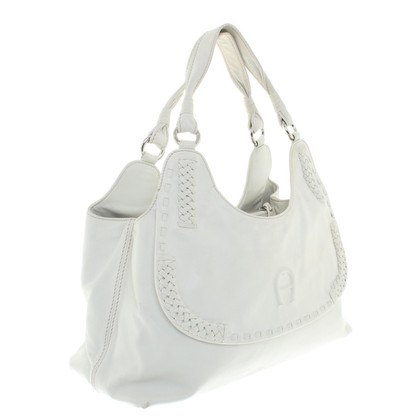 Aigner Handtas in White