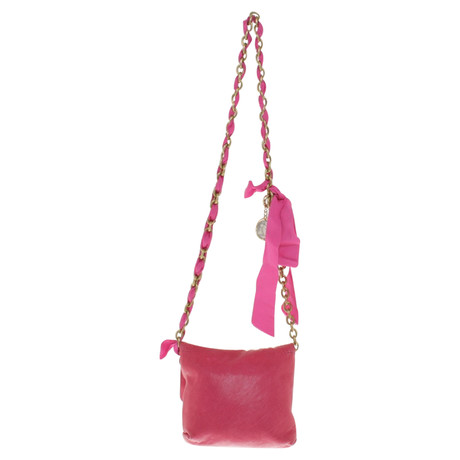 Lanvin Umhängetasche mit Gliederkette Rosa / Pink Rabatt Niedrigsten Preis Für Schöne Online Verkauf Countdown-Paket 7taVo
