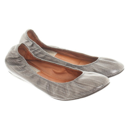 Lanvin Silver colored ballerinas