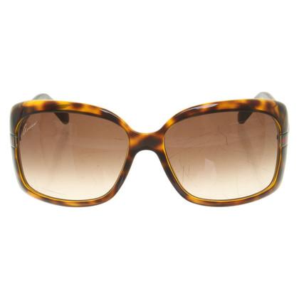 Gucci Sonnenbrille mit Schildpattmuster