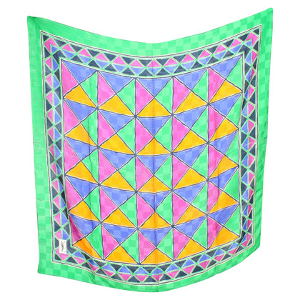 Yves Saint Laurent Silk scarf with pattern
