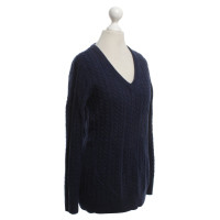Equipment Knit sweater in blue