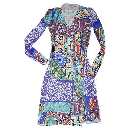 Blumarine jersey jurk