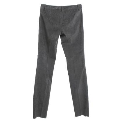 Dolce & Gabbana pantaloni di velluto in grigio