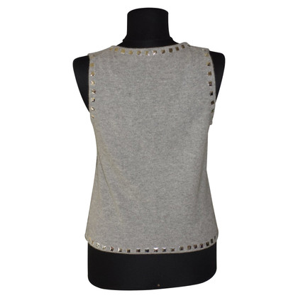 FTC Cashmere vest with studs