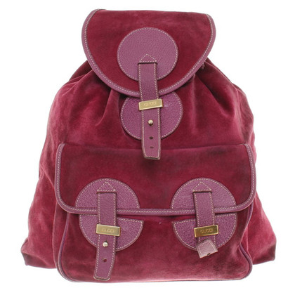 Gucci Backpack in Fuchsia