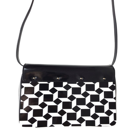 Marc Jacobs Lackleder-Clutch