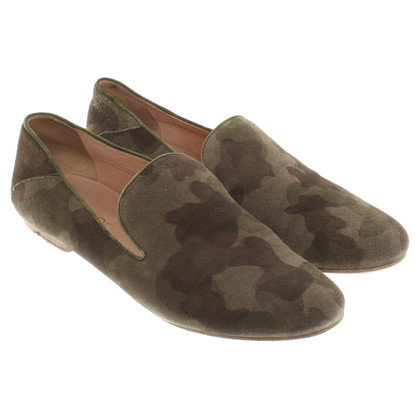 Unützer Loafer with camouflage pattern