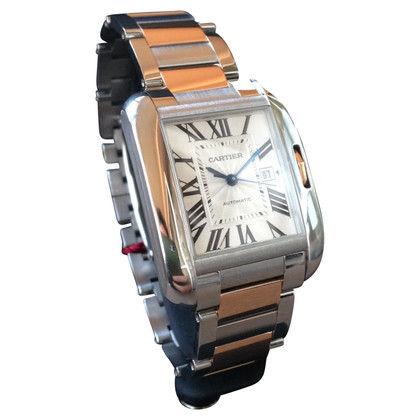 "Cartier ""Tank Anglaise Large"" Uhr"