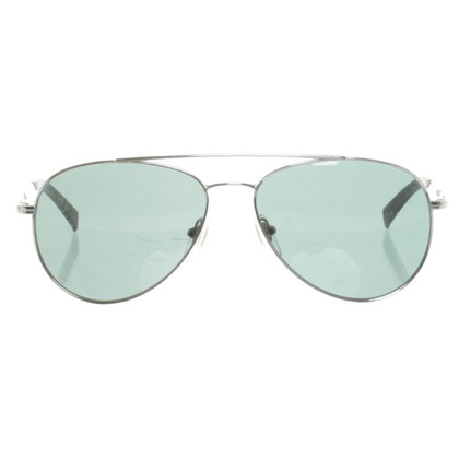 DKNY Aviator sunglasses silver/grey