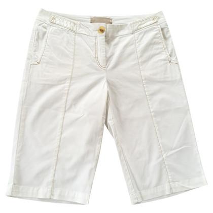 Schumacher Bermuda shorts in cream