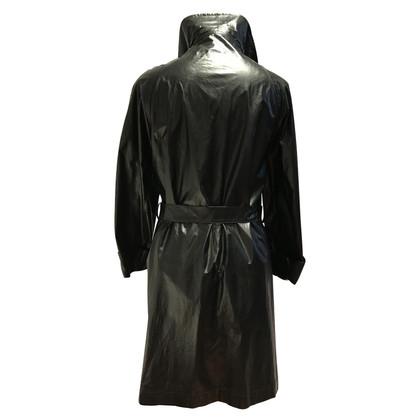 Chanel Trench coat in black