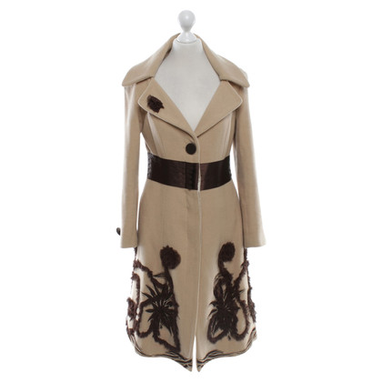 Moschino Cappotto in beige