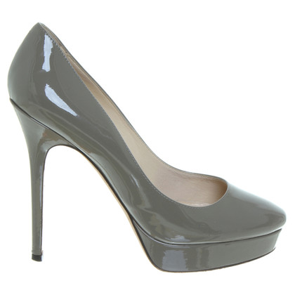 Jimmy Choo Plateaupumps in Taupe