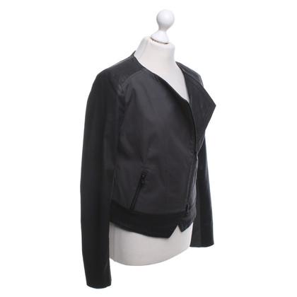 Drykorn Jacket in Black / grey