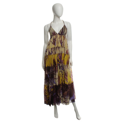 Jean Paul Gaultier Summer dress with a floral pattern
