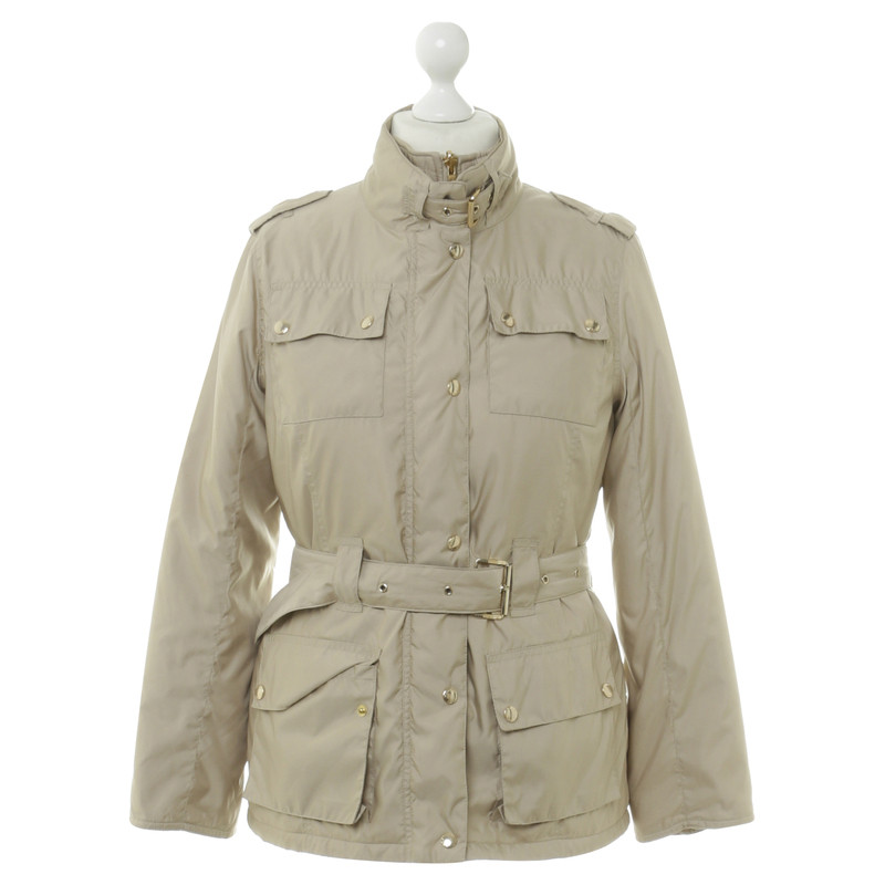 michael kors jacke in beige second hand michael kors jacke in beige gebraucht kaufen f r 80 00. Black Bedroom Furniture Sets. Home Design Ideas