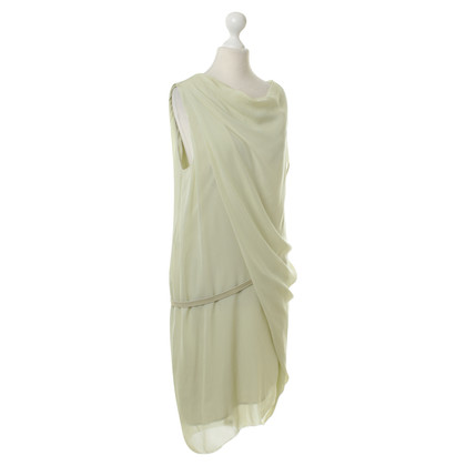 Helmut Lang Silk dress in mint Green