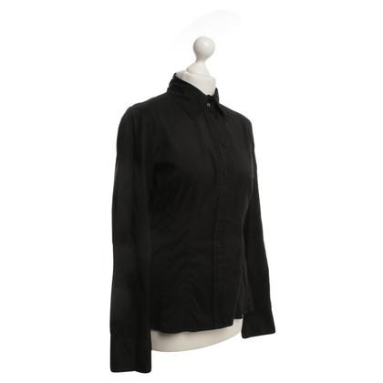 Hugo Boss Hemdbluse in zwart