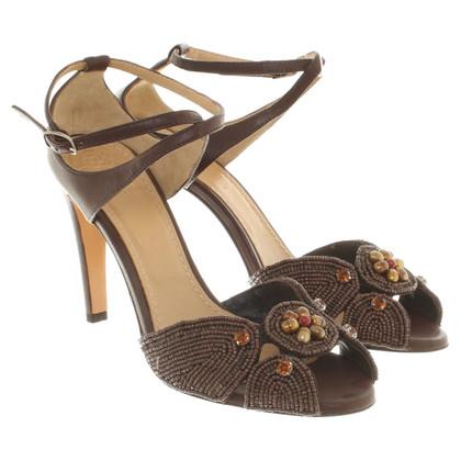 Maliparmi Sandaletten mit Schmucksteinen