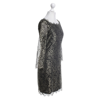 Diane von Furstenberg Dress with floral lace