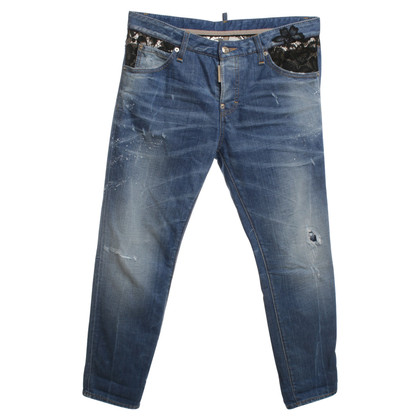 Dsquared2 Jeans with black lace