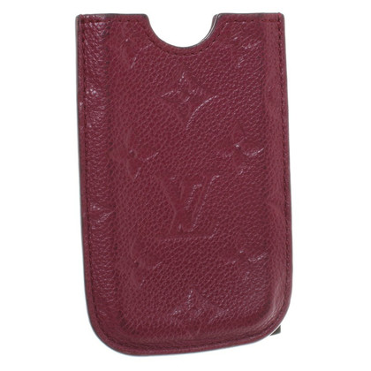Louis Vuitton iPhone Case in Bordeaux