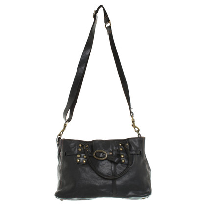 Campomaggi Leather handbag in black
