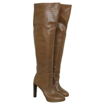 Céline Overknees in light brown