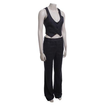 Diane von Furstenberg Tailleur pantalone in misto lana