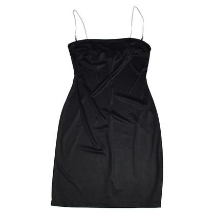 Dolce & Gabbana Black Nylon Dress