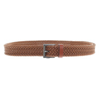 The Kooples Braided belt in brown