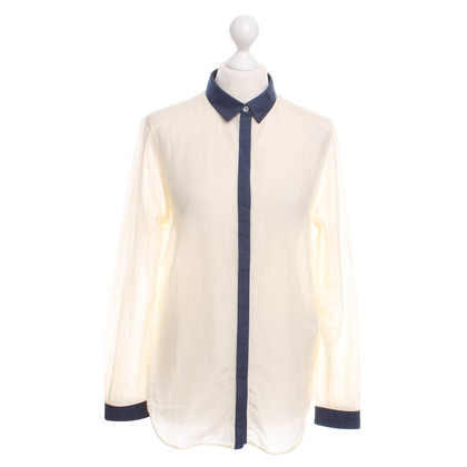 Boss Orange Blouse in Beige / Blauw
