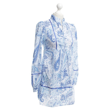 Van Laack Blouse with a floral pattern