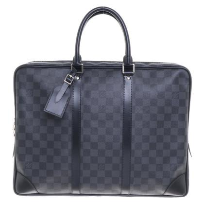 Louis Vuitton Laptop bag from Damier Graphite Canvas