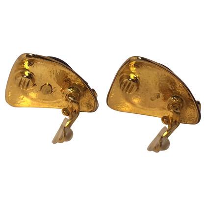Chanel Gripoix oorbellen