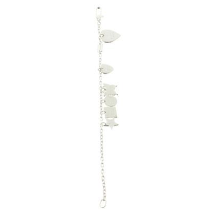 Gucci Silver Charm Bracelet