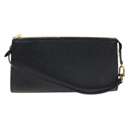 "Louis Vuitton ""Pochette Accessories Epi leather"" in black"